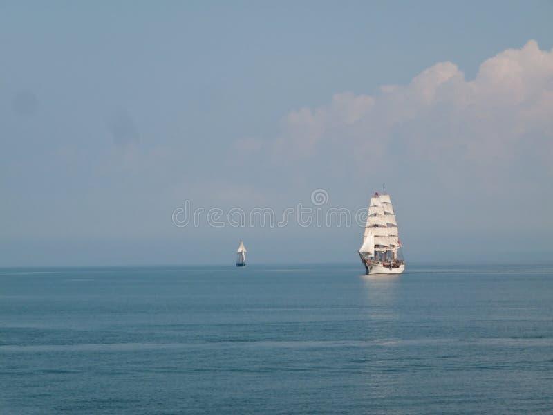 Navios tradicionais da vela fotografia de stock