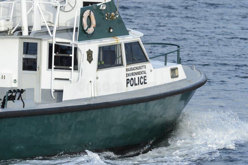 Navire environnemental Jessie de police du Massachusetts photos libres de droits