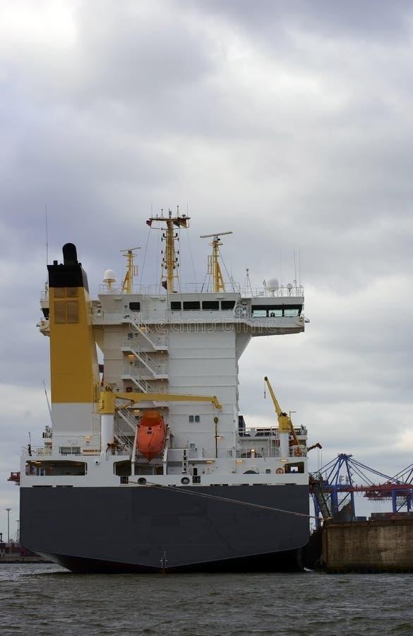 Download Navire porte-conteneurs photo stock. Image du allemagne - 45358178