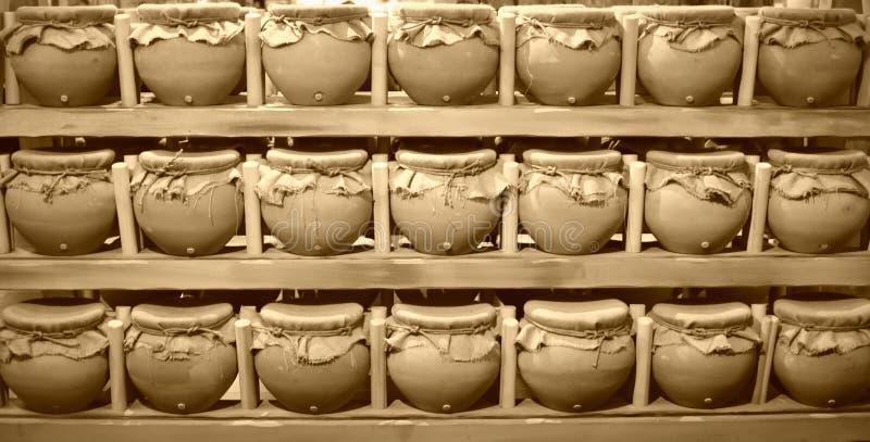 Navires de nourriture - la rencontre d'arche image stock