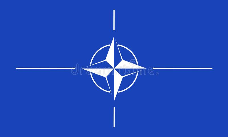 NAVO royalty-vrije illustratie