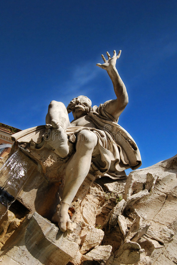 navona Ρώμη στοκ φωτογραφίες