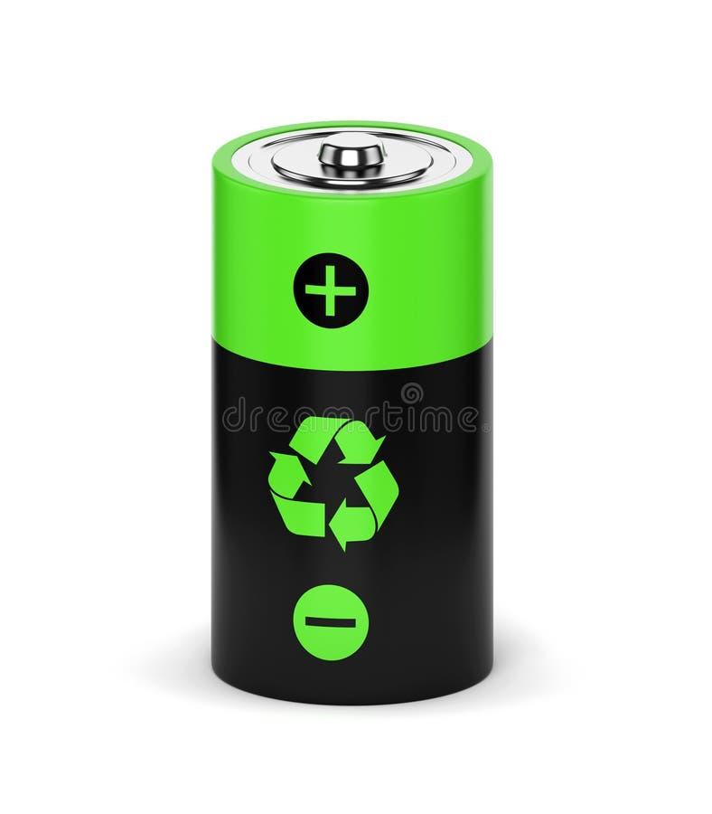 Navulbare batterij royalty-vrije illustratie