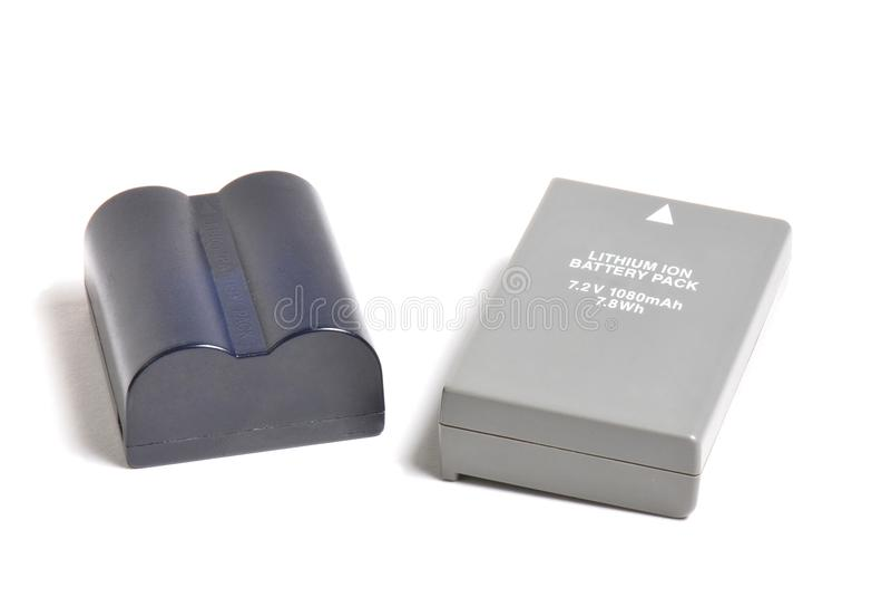 Navulbare Batterijen stock afbeelding