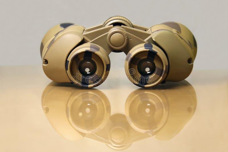 Navy binoculars royalty free stock photo