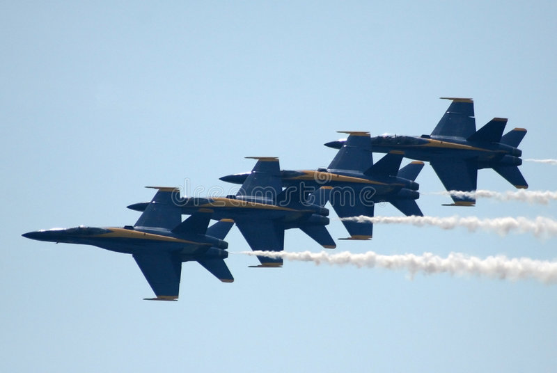 Navy Blue Angels 2 royalty free stock photo
