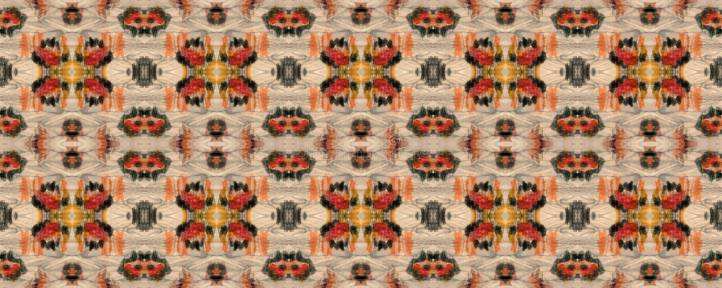 Ikat Seamless Pattern. Navy Blue and Indigo Aztec Geometric Textile Print. Ikat Pattern. Watercolor Hand Drawn Batik. Creative Navajo Ikat Background. Allover stock photo