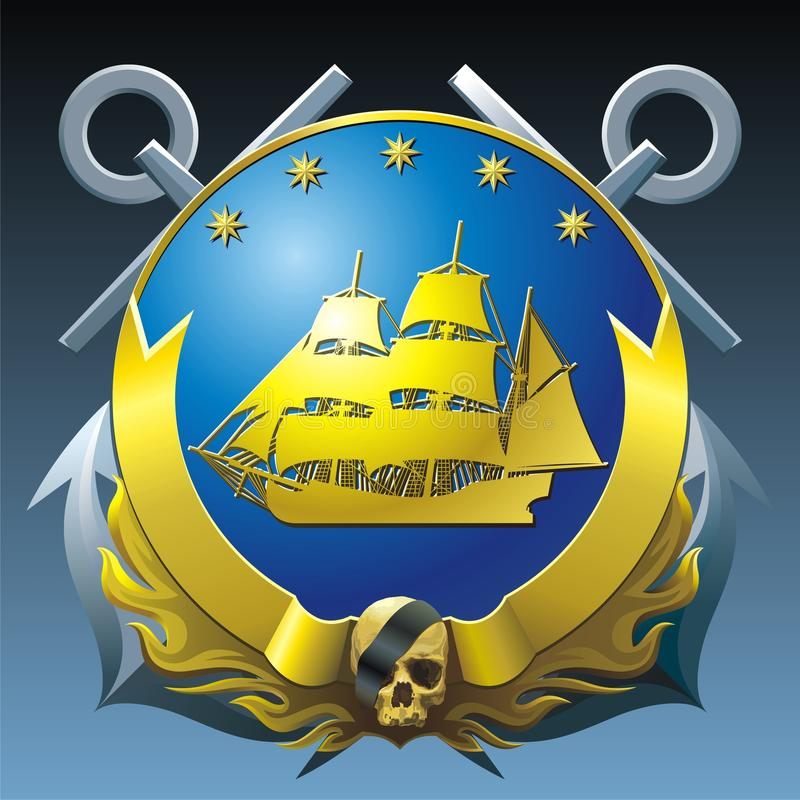 Download NAVY Breastplate Stock Images - Image: 9973884