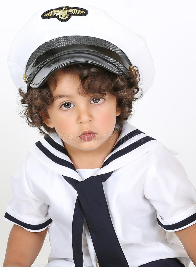 Navy costume stock image