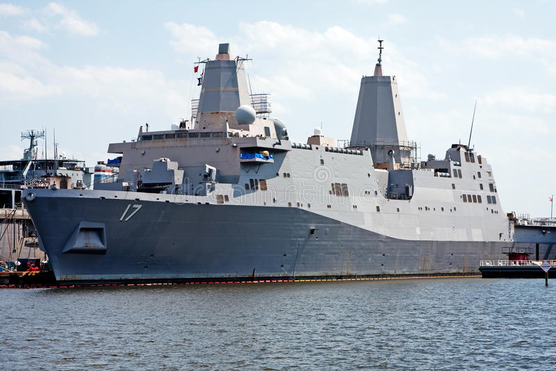 Navy marine battleship royalty free stock photo
