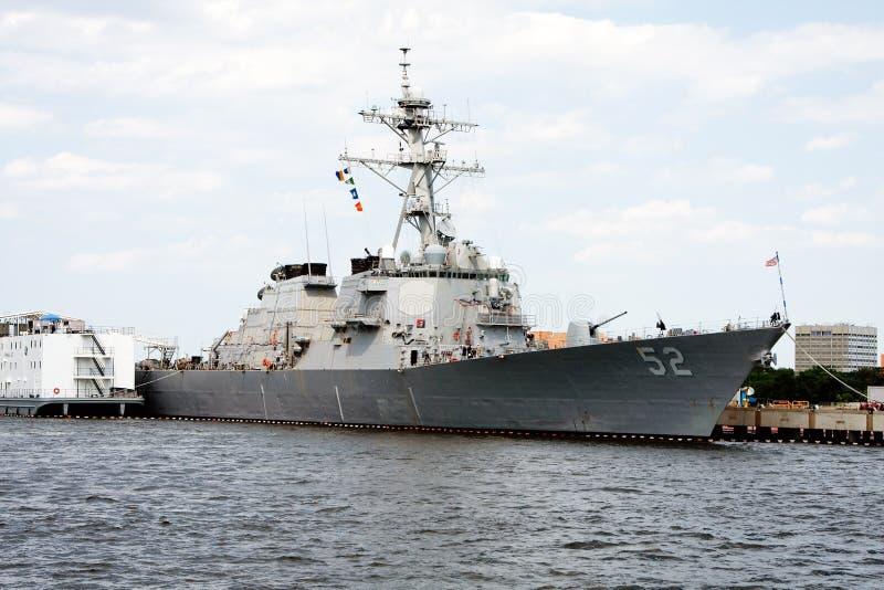 Navy marine battleship stock photography