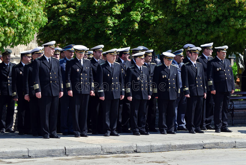 Download Navy officers editorial image. Image of forces, organization - 19498230