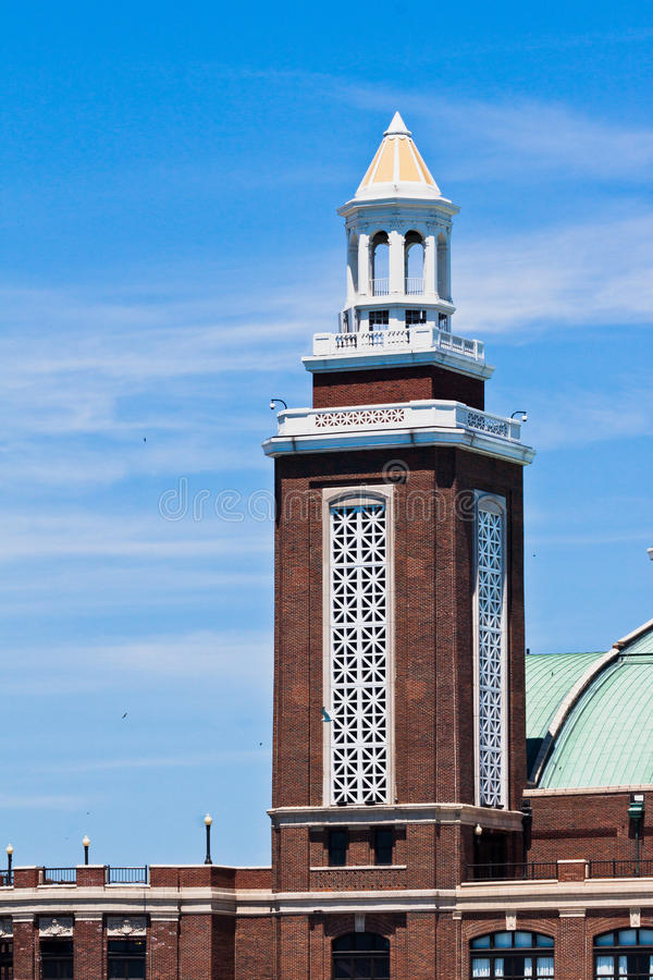 Download Navy Pier Tower In Chicago Royalty Free Stock Photo - Image: 24424065