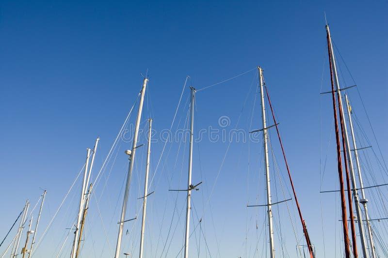 Download Navy Poles stock photo. Image of sailboat, navy, rope - 26171096