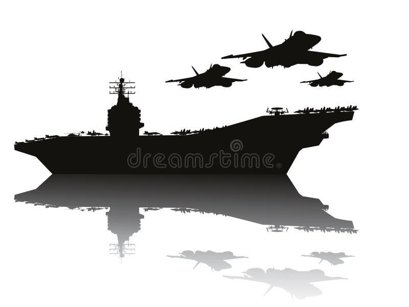 Navy power royalty free illustration