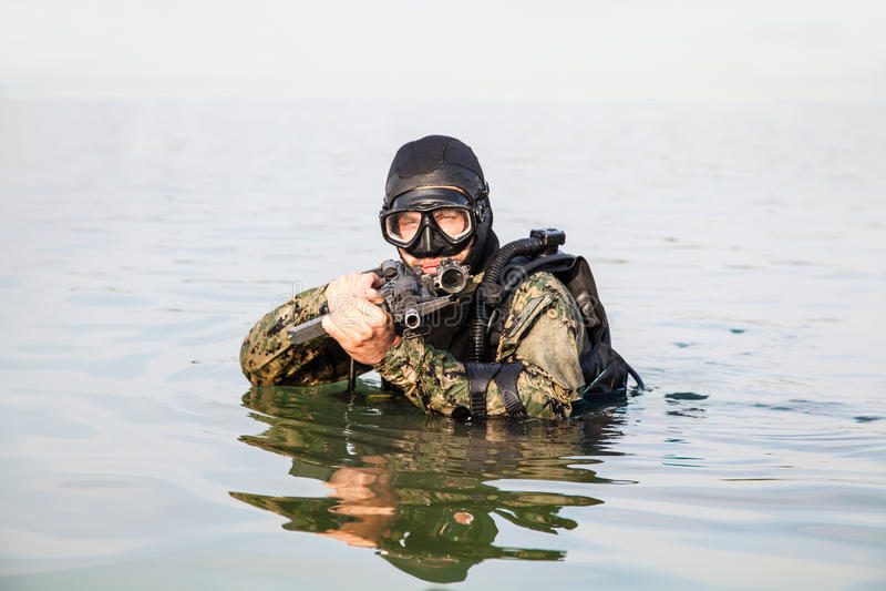 Navy seal frogman stock image image of naval nautical 65319471 - Navy seal dive gear ...