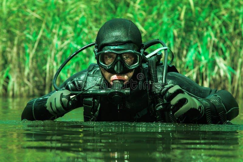 Navy seal frogman stock photo image of helmet army 81934000 - Navy seal dive gear ...