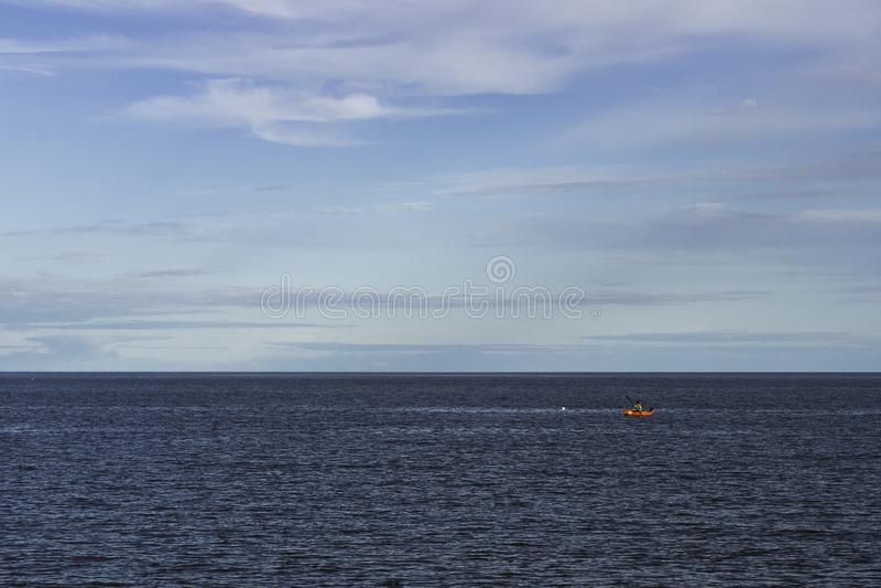 Nawadnia i nieba wcielają w jeden colour Khanka zdjęcie royalty free