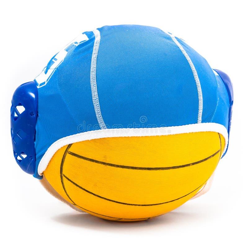 Nawadnia polo nakrętkę piłkę i zdjęcia royalty free