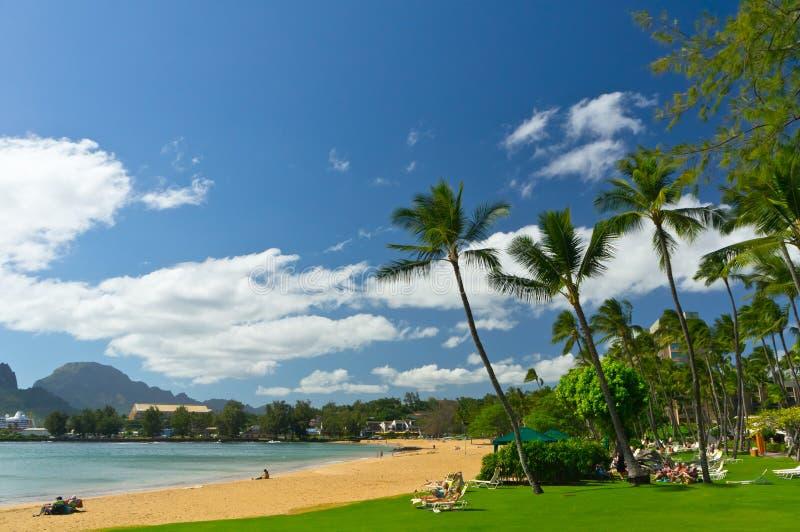 Nawiliwili, ilha de Kauai, Havaí, EUA fotografia de stock royalty free