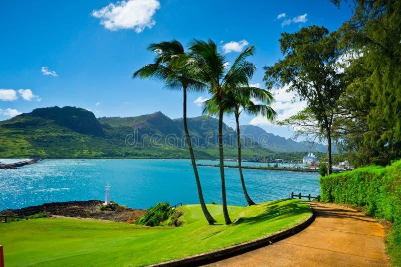 Nawiliwili, Kauai-Insel, Hawaii, USA stockfoto