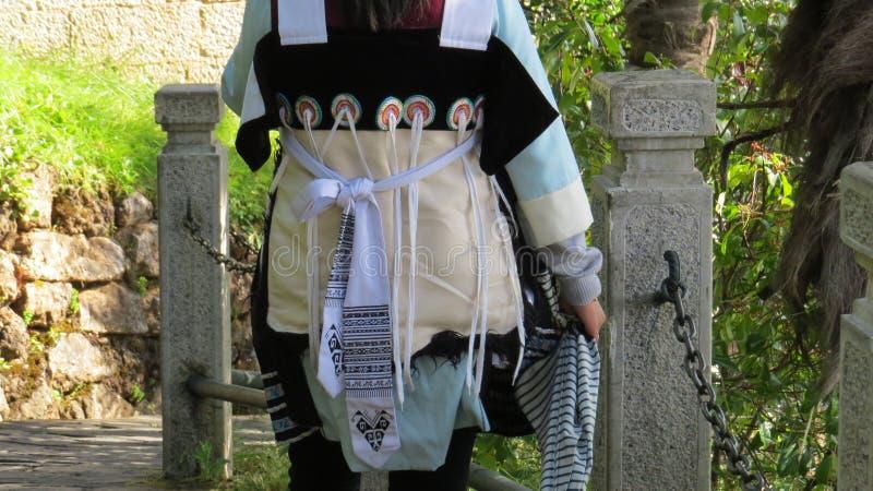 Naxi Tradycyjna suknia w Lijiang zdjęcie stock