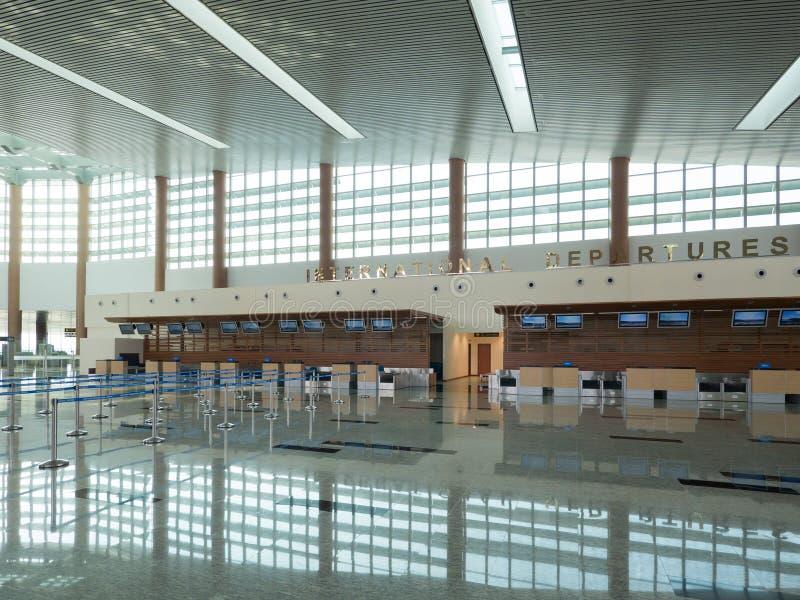 Nay Pyi Taw International Airport, Myanmar photo libre de droits