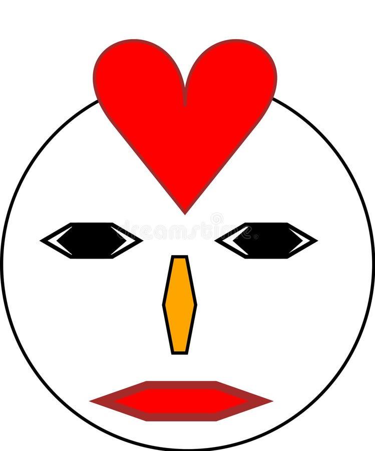 Naya love brand emoji royalty free stock images