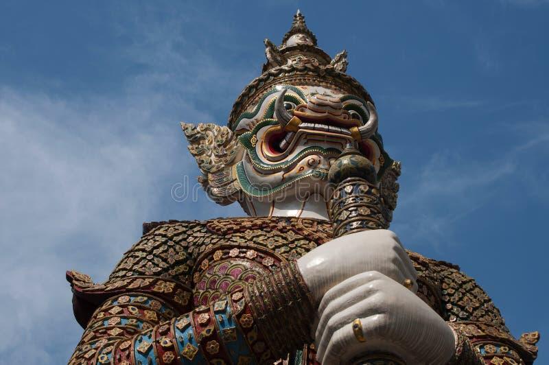 Nayak宫殿雕象在泰国 库存图片