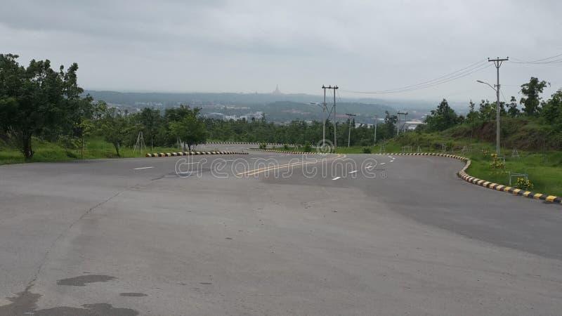 Naypyitaw-Stadt stockfoto