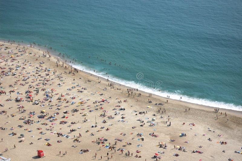 Nazare Beach Stock Image