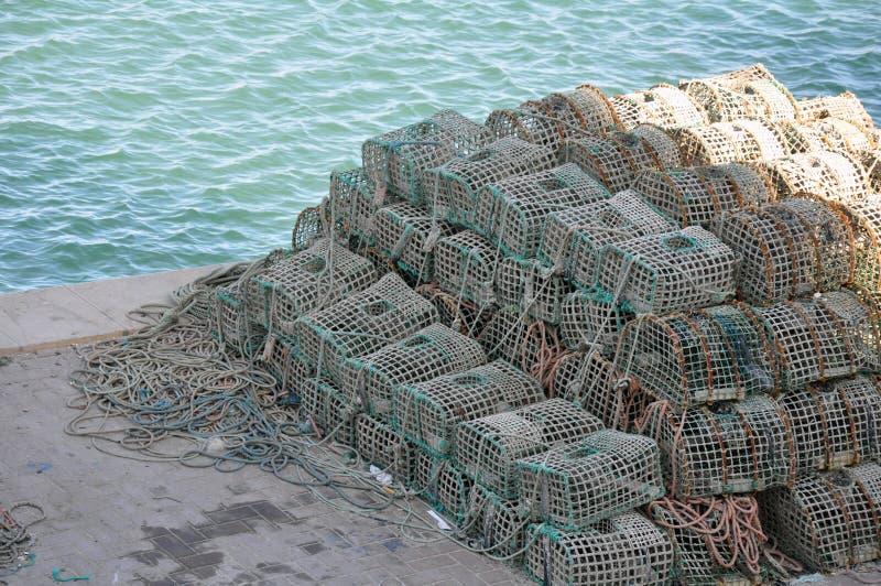 Nazare, Portugal stock foto's