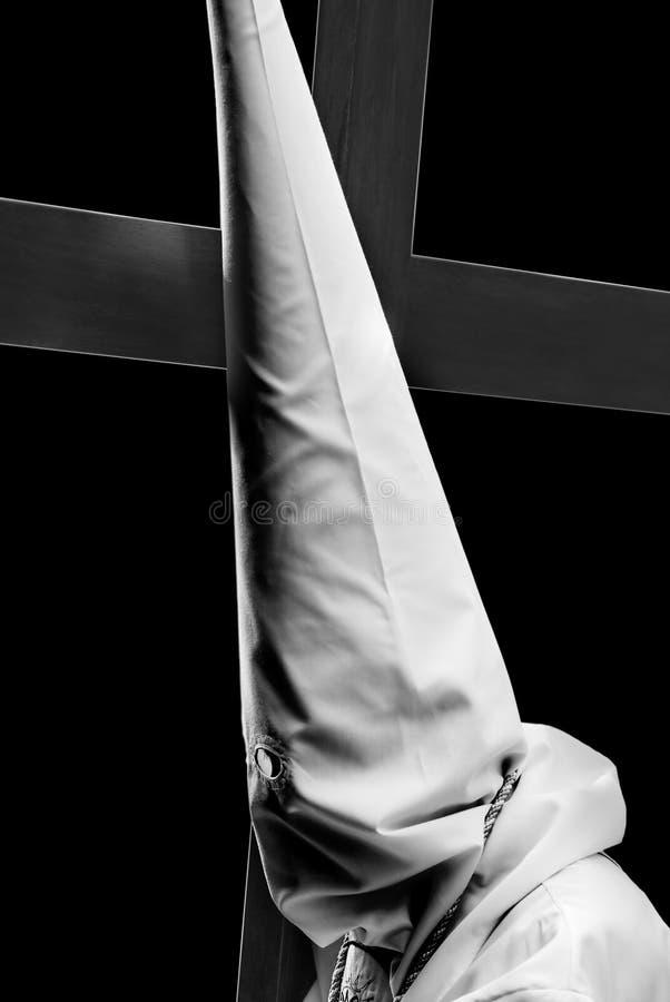Nazarene de Easter. fotografia de stock royalty free