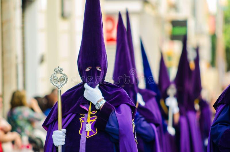 Nazarene na semana da Páscoa imagem de stock royalty free