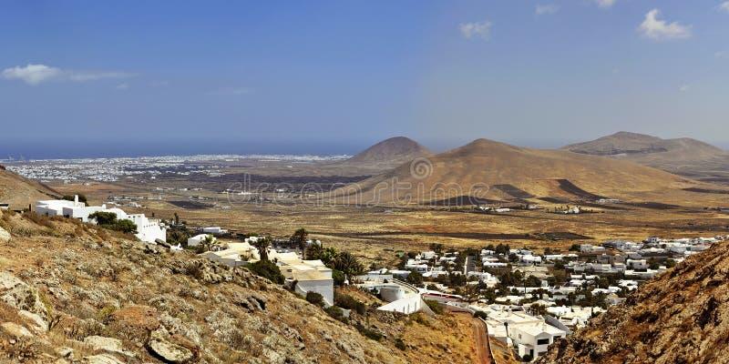 Nazaret sur Lanzarote photographie stock libre de droits