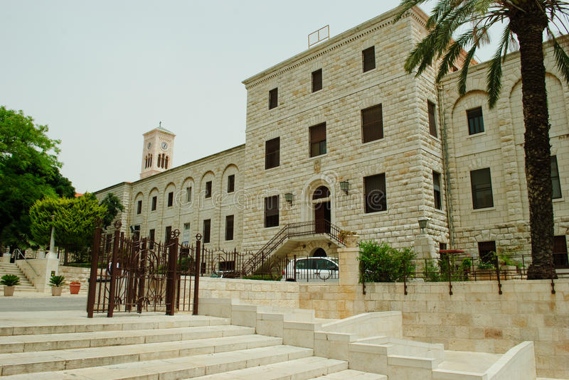 Download Nazareth, Israel stock image. Image of stairs, tower - 28973093