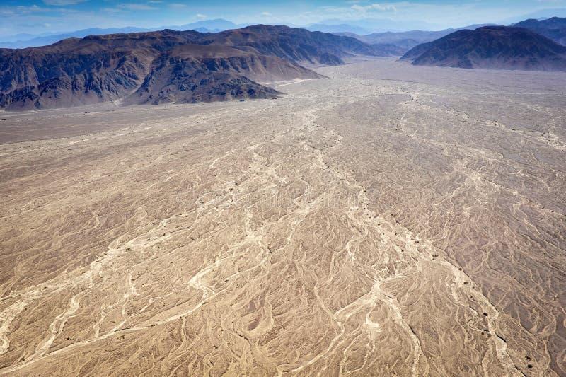 nazca пустыни стоковые изображения rf