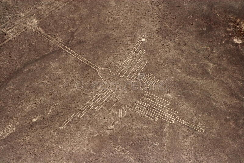 Nazca Linie fotografia stock