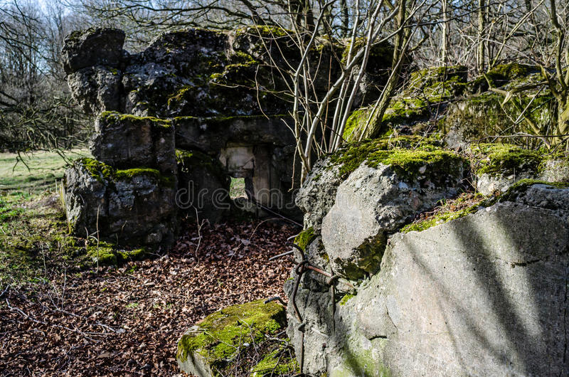 Nazi Fortification imagem de stock royalty free