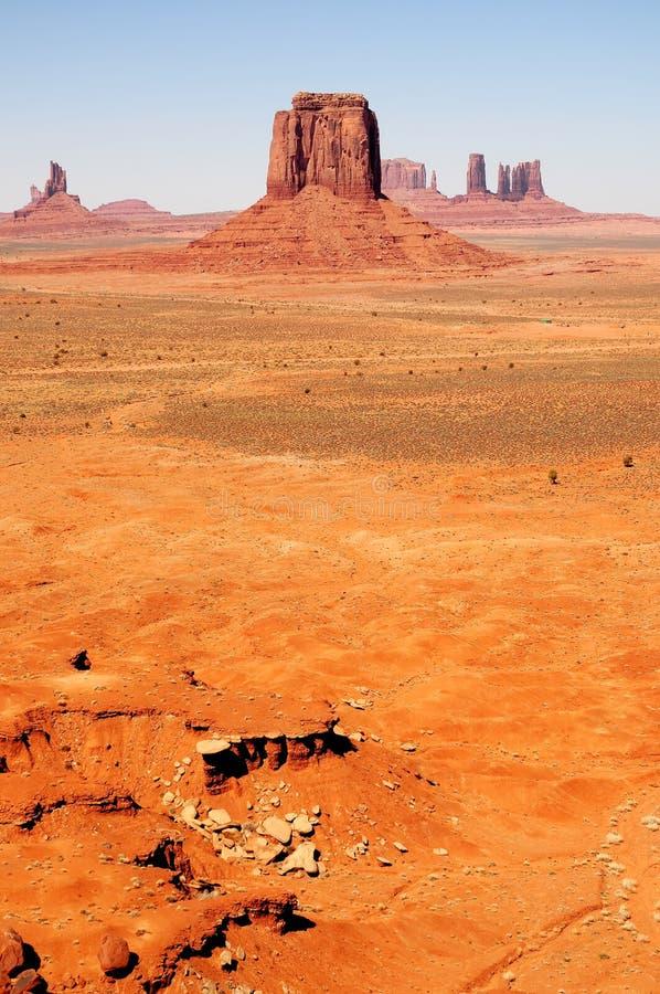 Nazione del navajo dell'Arizona della valle del monumento fotografia stock