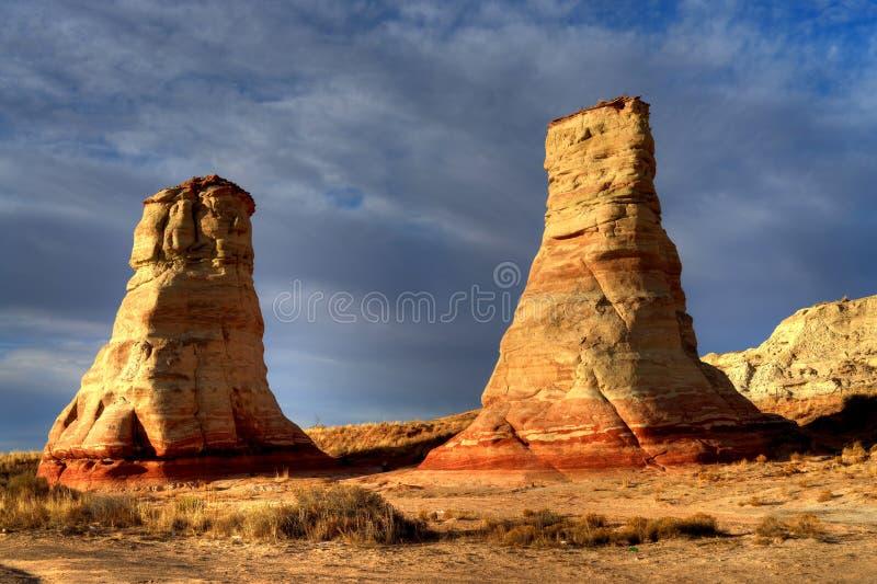 Nazione navajo Arizona del menagramo immagini stock libere da diritti