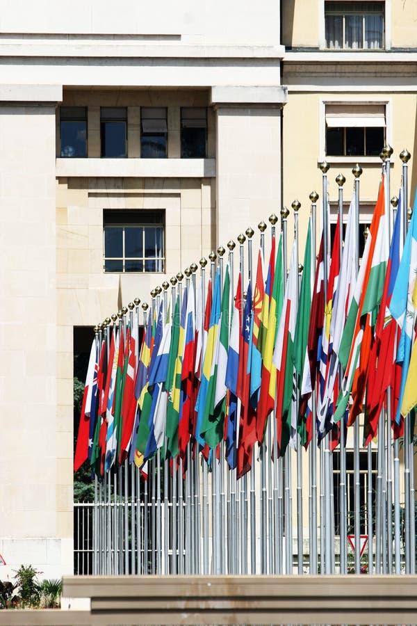 Nazioni del DES di Palais, Ginevra, Svizzera fotografie stock