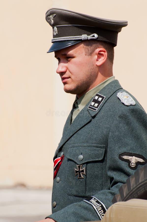 nazistowski żołnierz zdjęcia stock