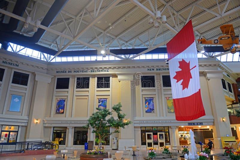 NB博物馆在圣约翰,新不伦瑞克,加拿大 图库摄影