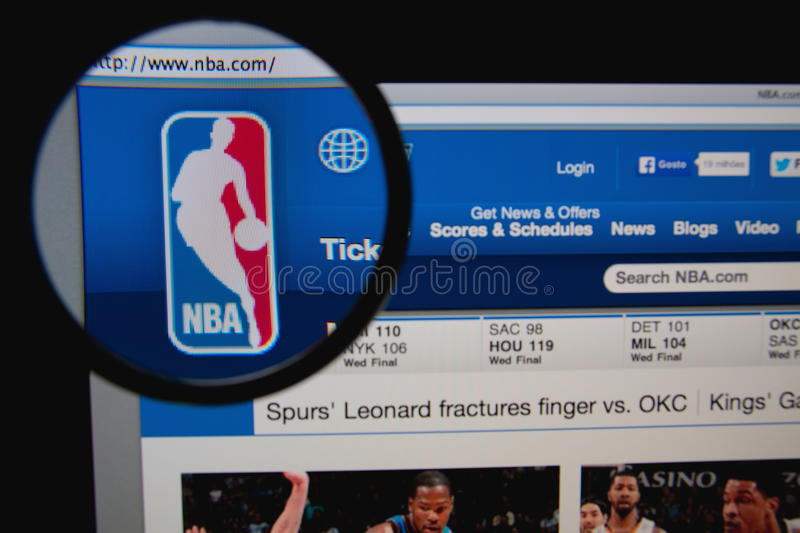 NBA fotografia de stock royalty free