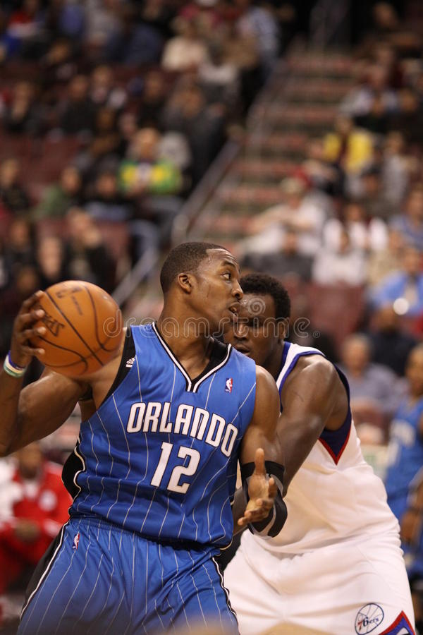 NBA All Star Dwight Howard royalty free stock images