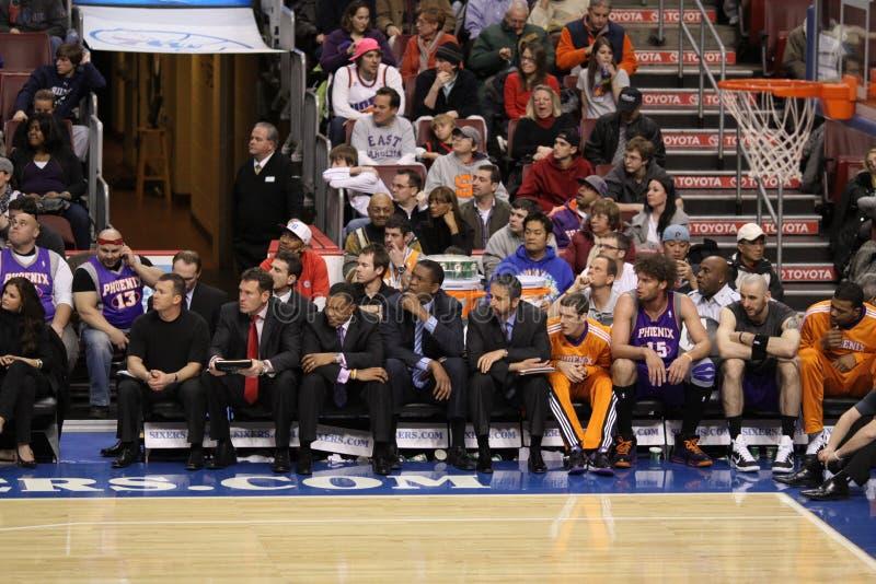 NBA Phoenix espone al sole il banco immagine stock libera da diritti