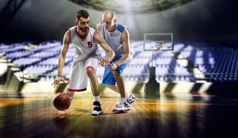 NBA speler Andrea Bargnani en Marco Belinelli stock foto's