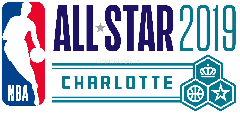 NBA tout l'éditorial illustratif de jeu d'étoile illustration de vecteur