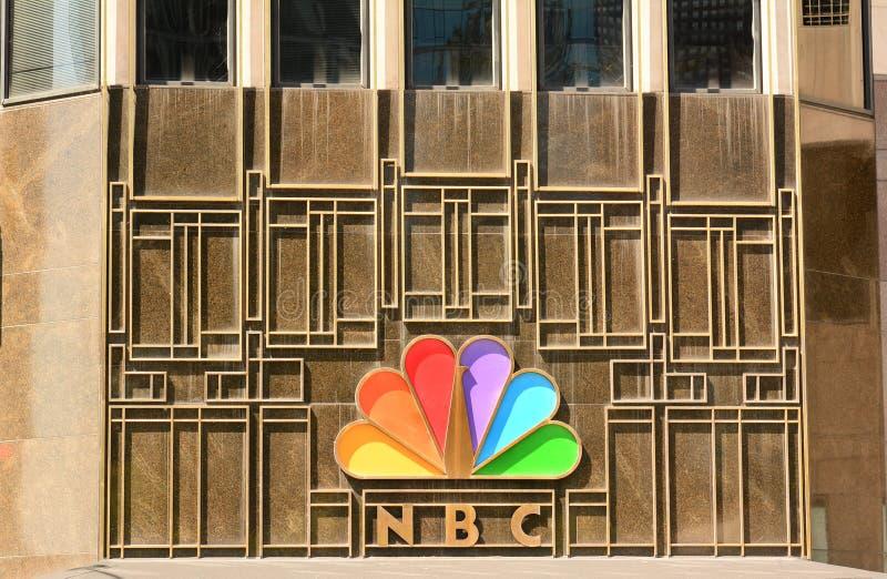NBC- Chicago royalty-vrije stock fotografie